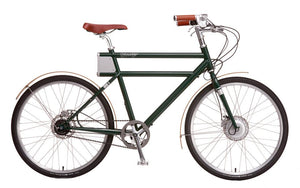 Faraday+Porteur - British Racing Green - Electric Cycling House