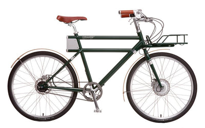 Porteur - British Racing Green - Electric Cycling House