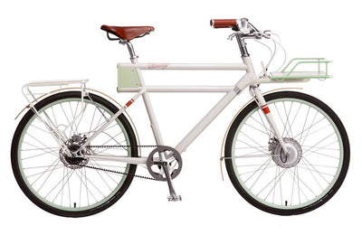 Porteur - Classic White - Electric Cycling House