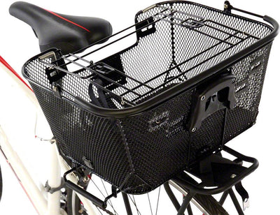 Axiom+Pet Basket with Rack and Handlebar Mounts - Electric Bikes
