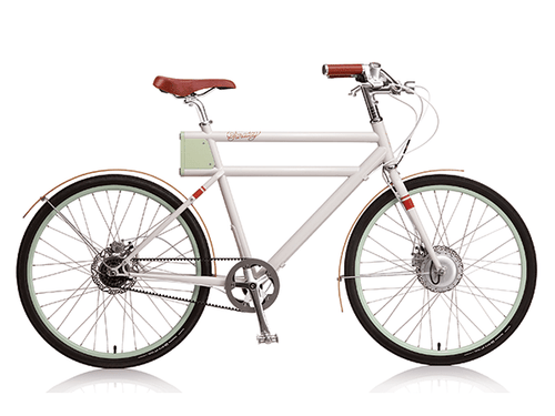 Faraday+Porteur - Classic White - Electric Cycling House