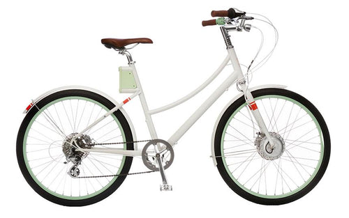 Faraday+Cortland S - Classic White - Electric Cycling House