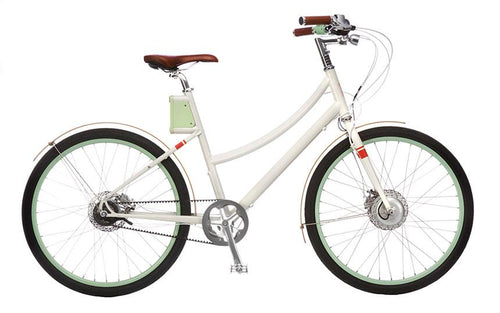 Faraday+Cortland - Classic White - Electric Cycling House