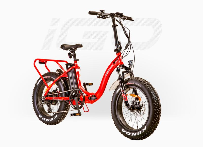 Fat E Folding electric fat bike  2018