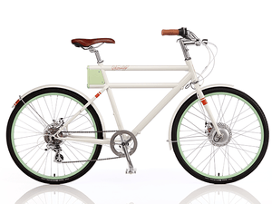 Faraday+Porteur S - Classic White - Electric Cycling House