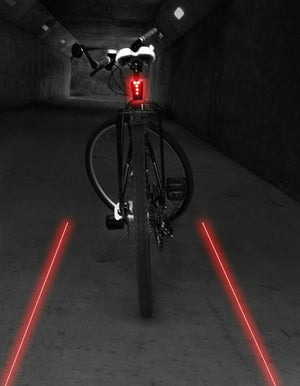 CycleAware+Lazer Shark Tail Light - Electric Cycling House