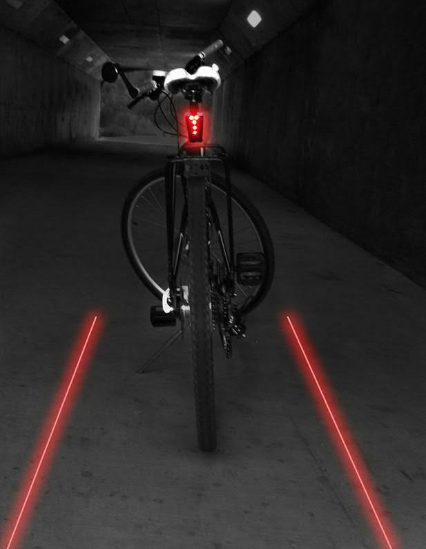 CycleAware+Lazer Shark Tail Light - Electric Bikes