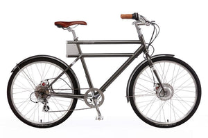 Faraday+Porteur S - Slate Grey - Electric Cycling House