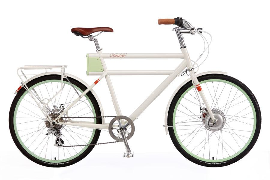 Faraday+Porteur S - Classic White - Electric Bikes