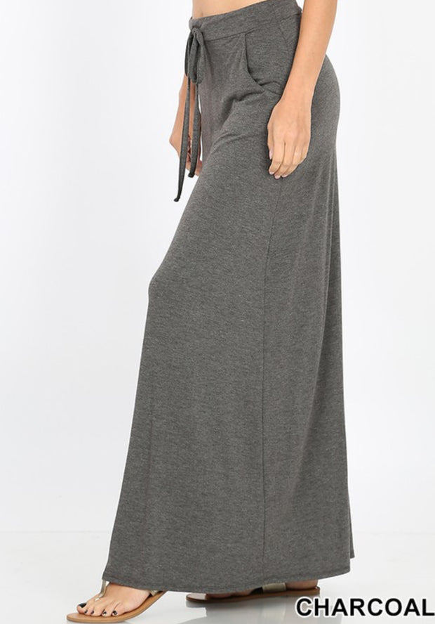 Charcoal Maxi Skirt-Regular Sizes