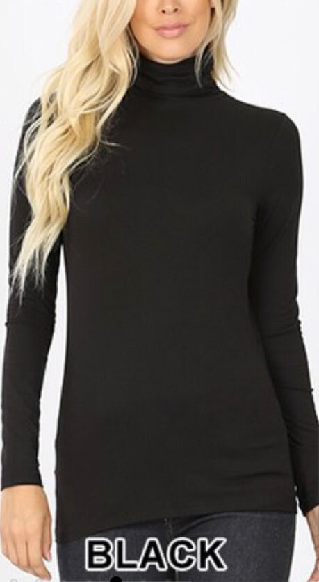 Basic Turtleneck Top