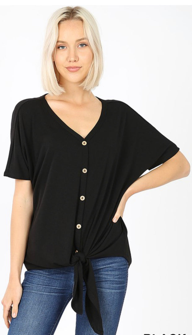 Style Me Up Tie-Front Top