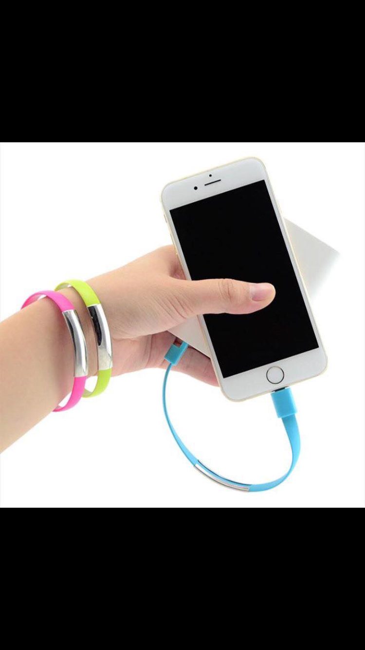 Bracelet Phone Charger (iPhone Only)