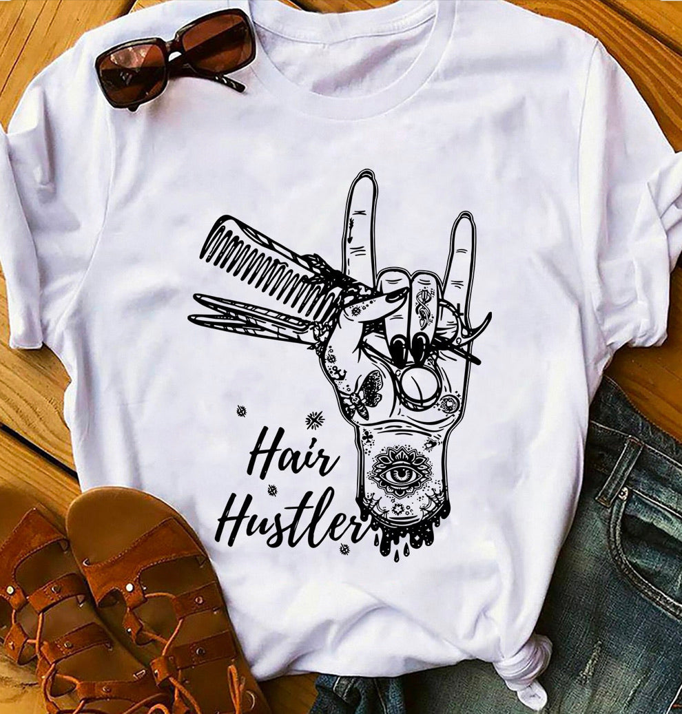 Hair Hustler Graphic Tee