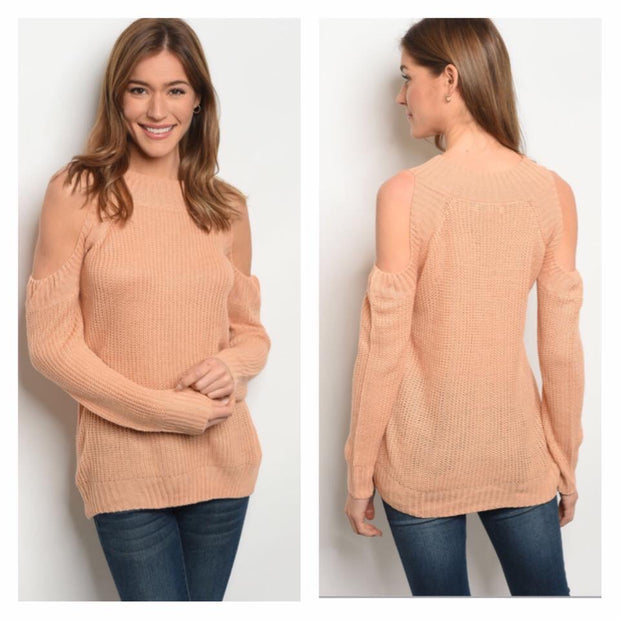 Carolina Cold Shoulder Sweater