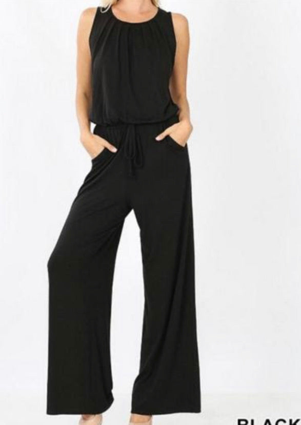 Jenna Sleeveless Jumpsuit