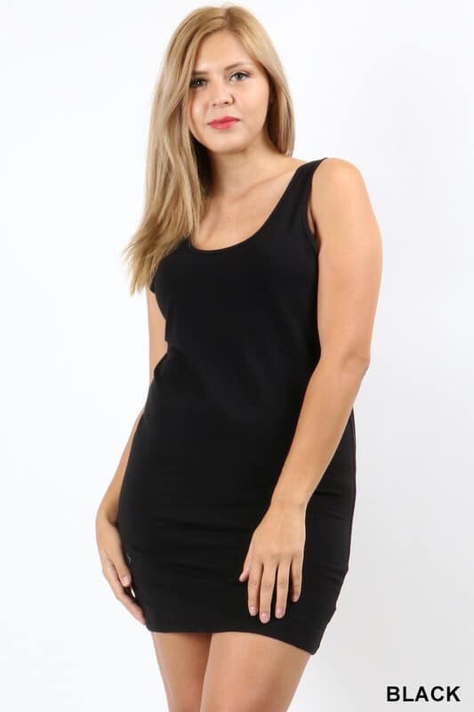 Becky BodyCon Midi Dress-Plus Sizes