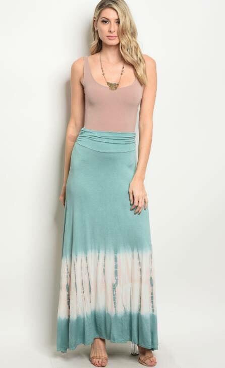 Toes in the Sand Maxi Skirt
