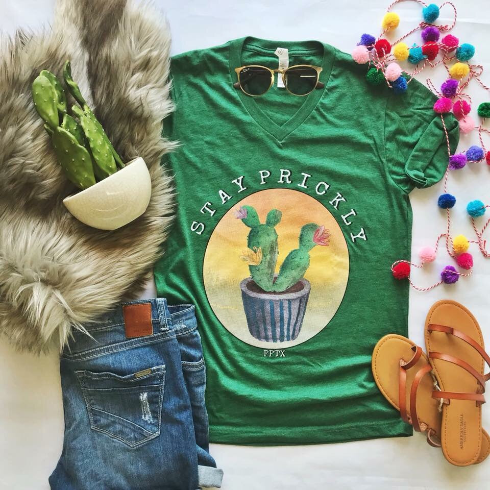 Stay Prickly Graphic Tee