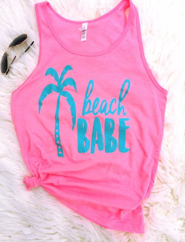 Beach Babe Graphic Tank