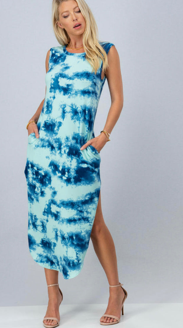 Making Waves Maxi Dress