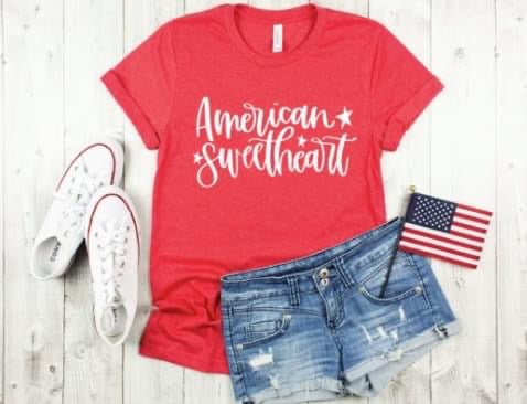 American Sweetheart Graphic Tee