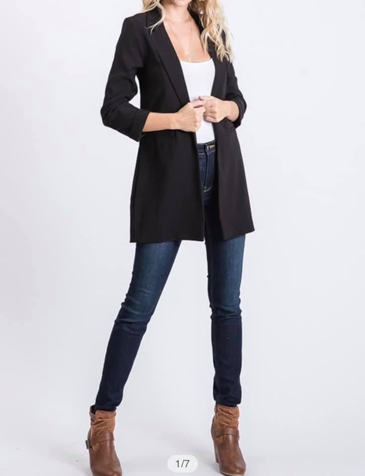 Classic Blazer-Regular & Plus Sizes