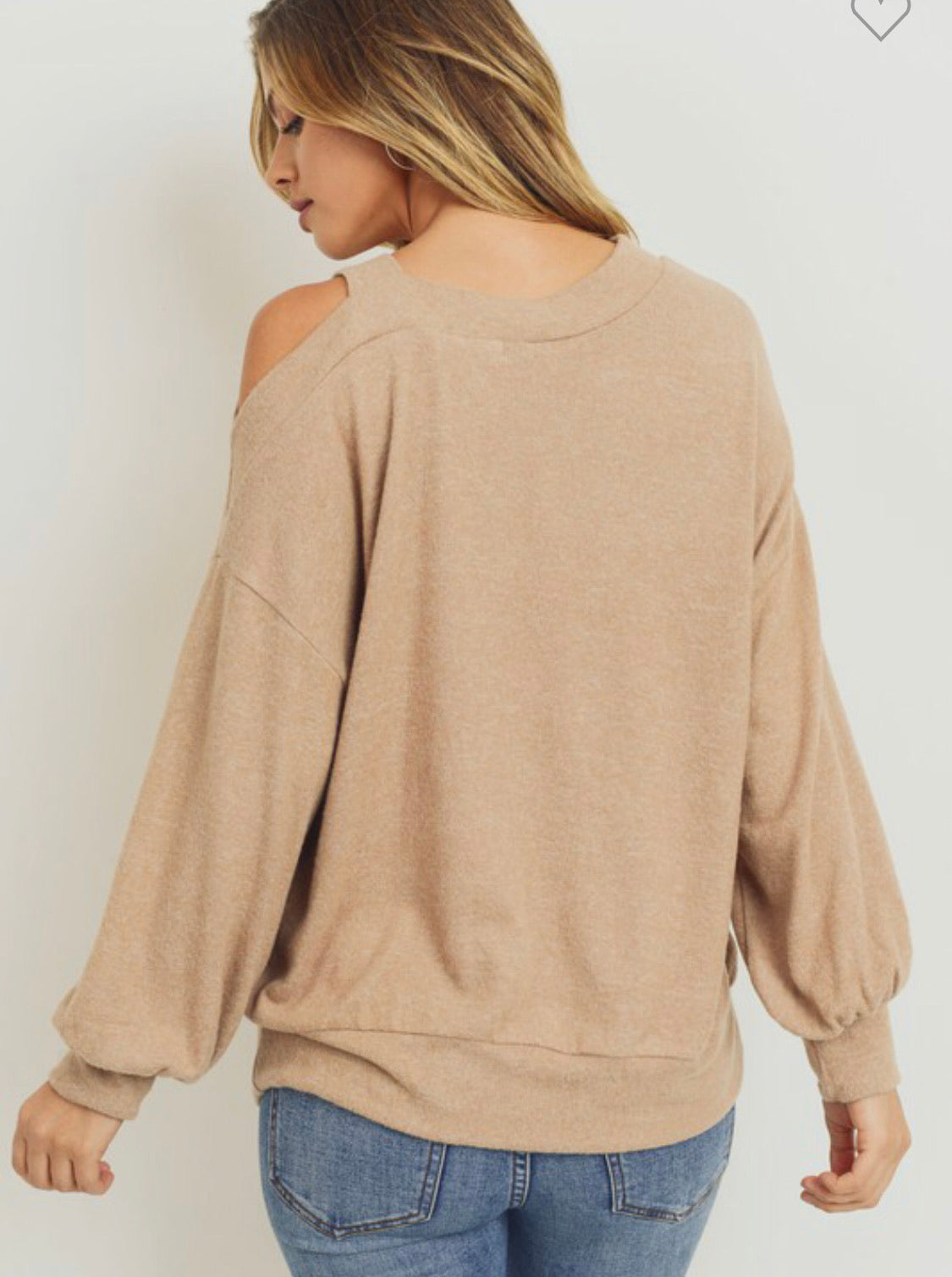 Shoulder Strap Sweater