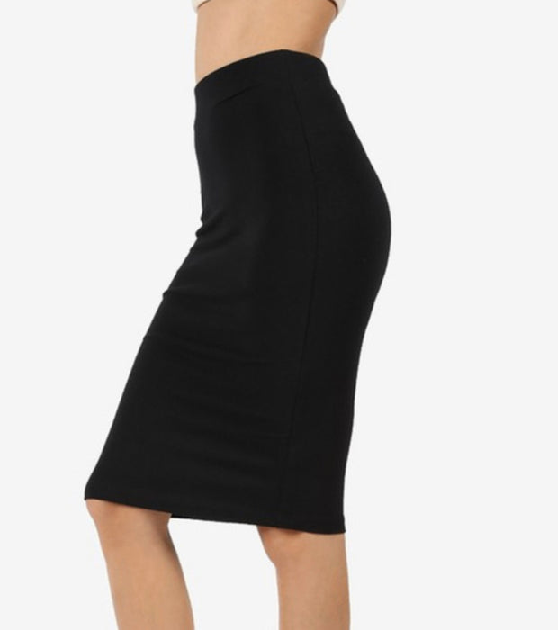 Pencil Skirt Plus Sizes