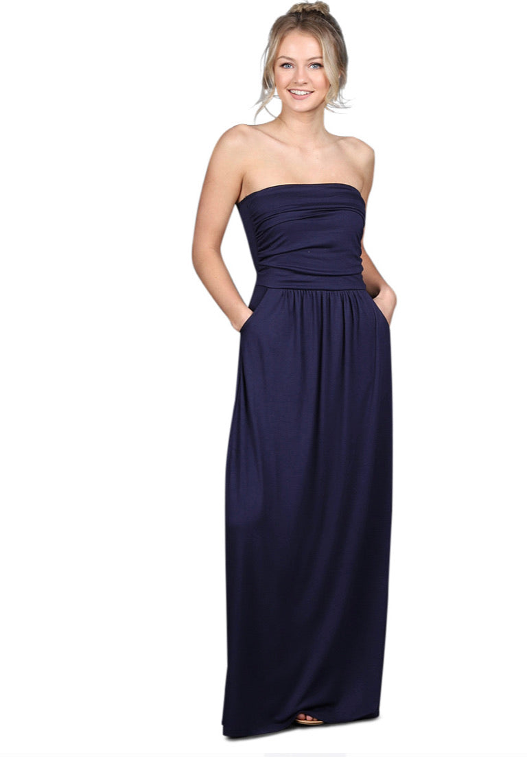 Amani Strapless Dress