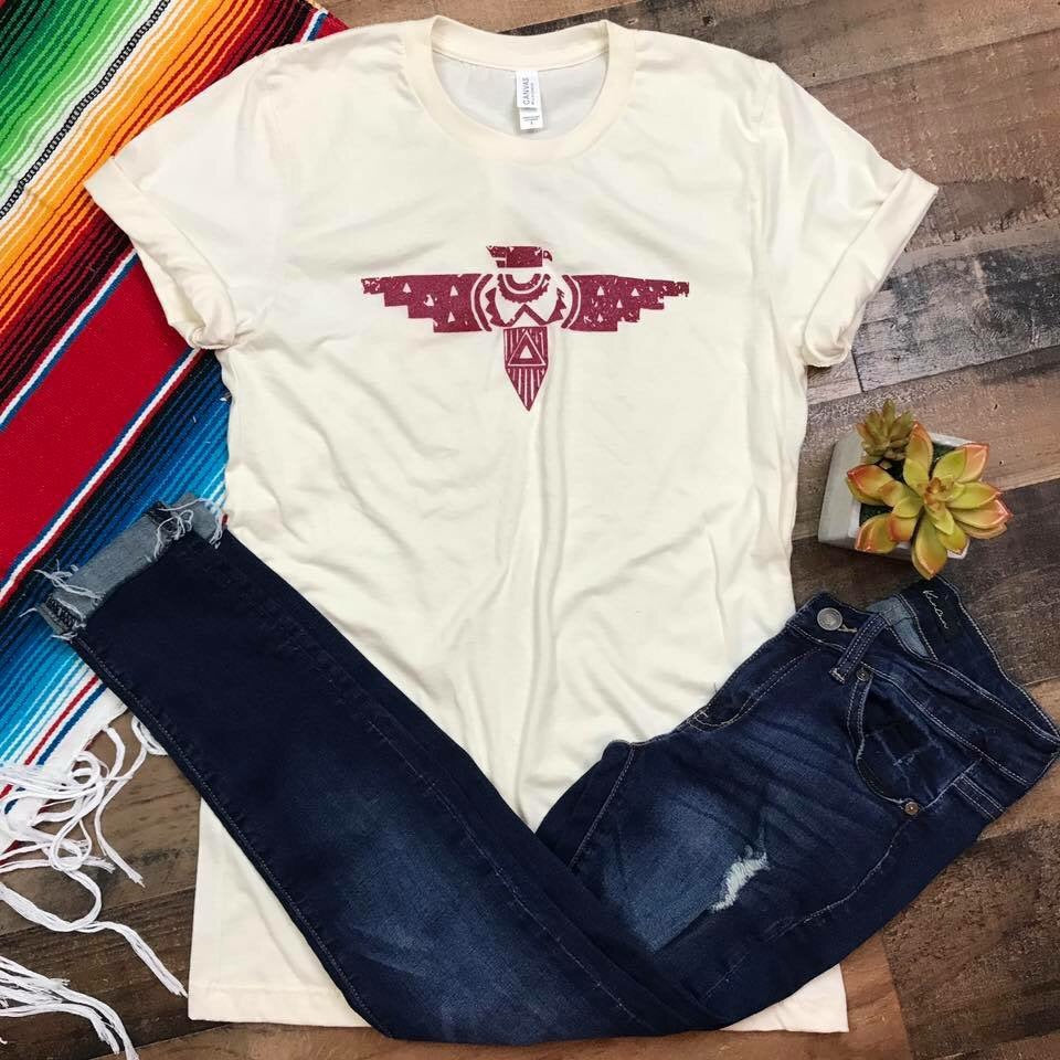 Ruby Red T-bird Tee