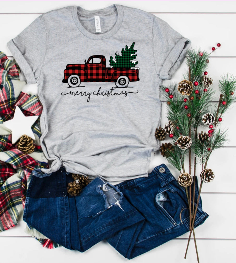 Christmas Truck Graphic Tee