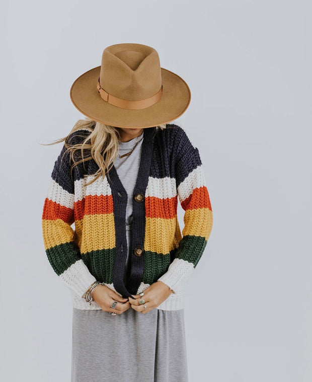 Chico Color block Cardigan