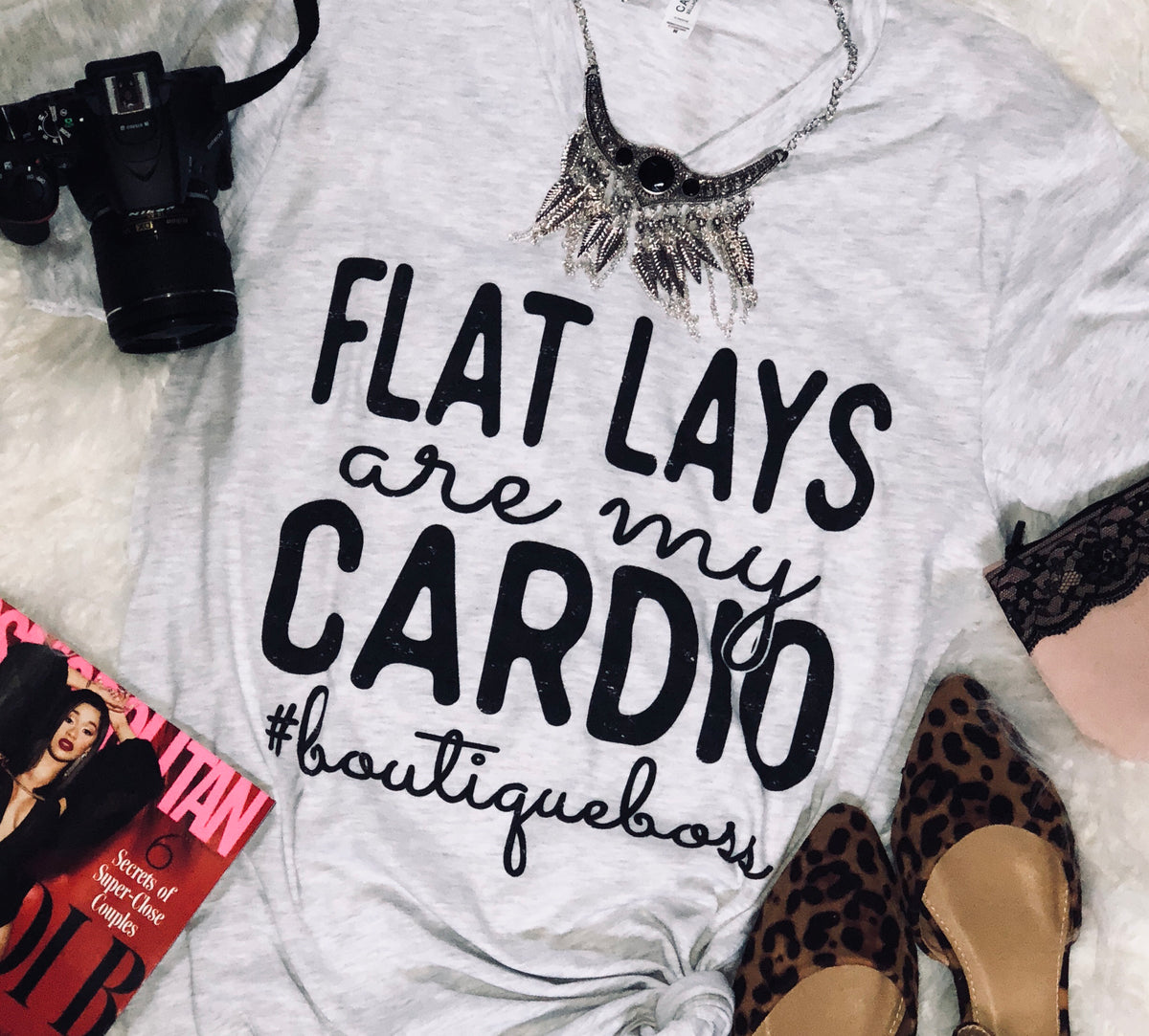 Flat Lays Graphic Tee