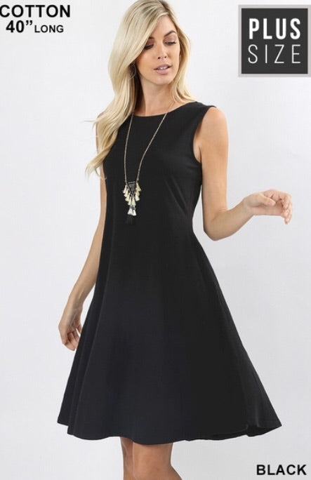 The Cassidy A-line Dress Plus