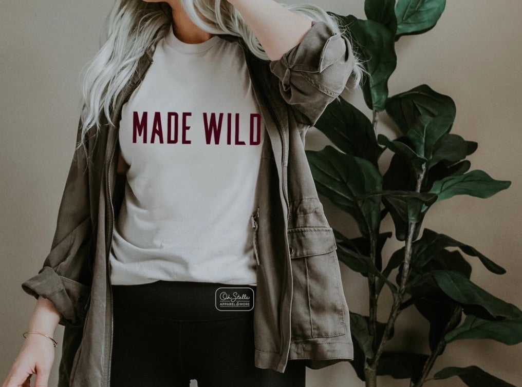 Made Wild Graphic Tee