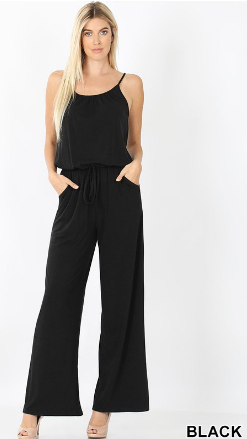 Tank Style Jumpsuit Regular and Plus Sizes