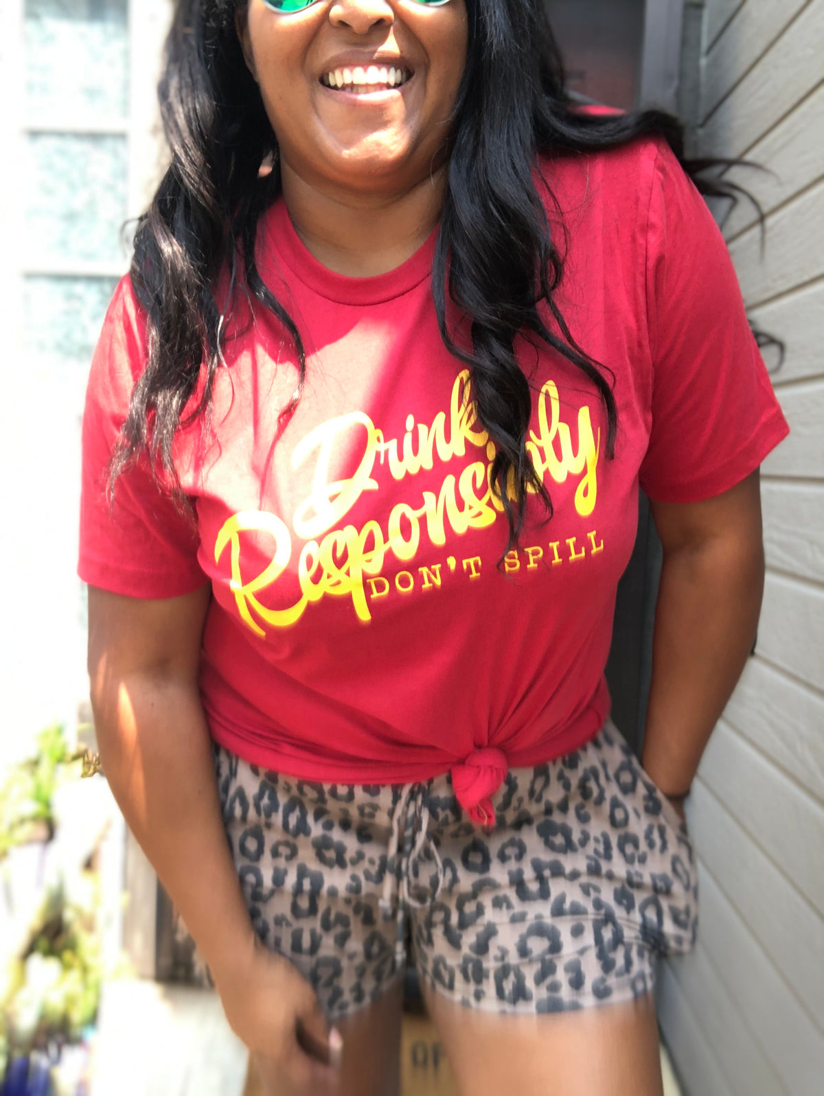 Drink Responsibly Graphic Tee