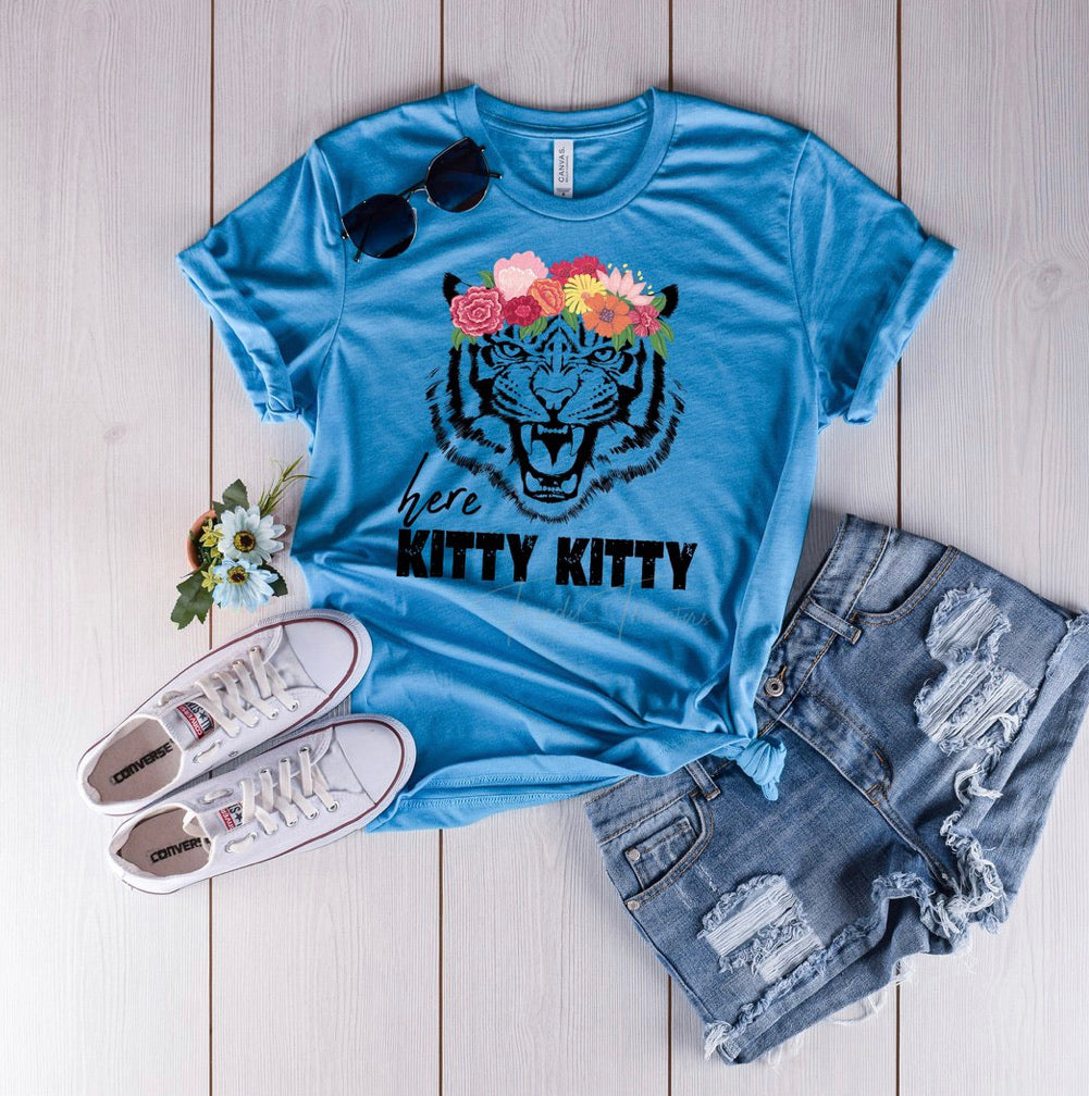 Here Kitty Kitty Graphic Tee