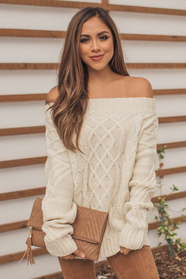 Snowy Winter Sweater
