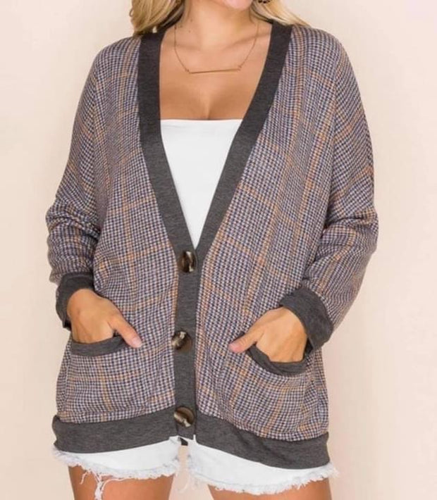 Smarty Pants Cardigan Regular & Plus Sizes