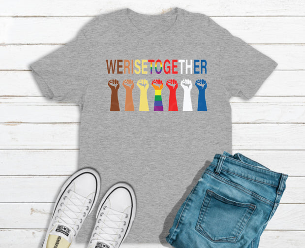 We Rise Together Graphic Tee