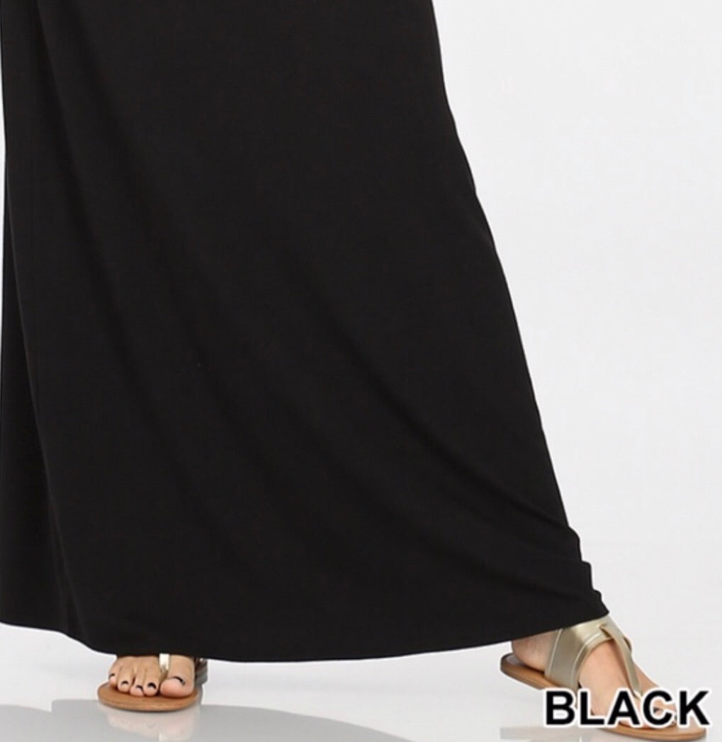 Black Maxi Skirt-Regular Sizes