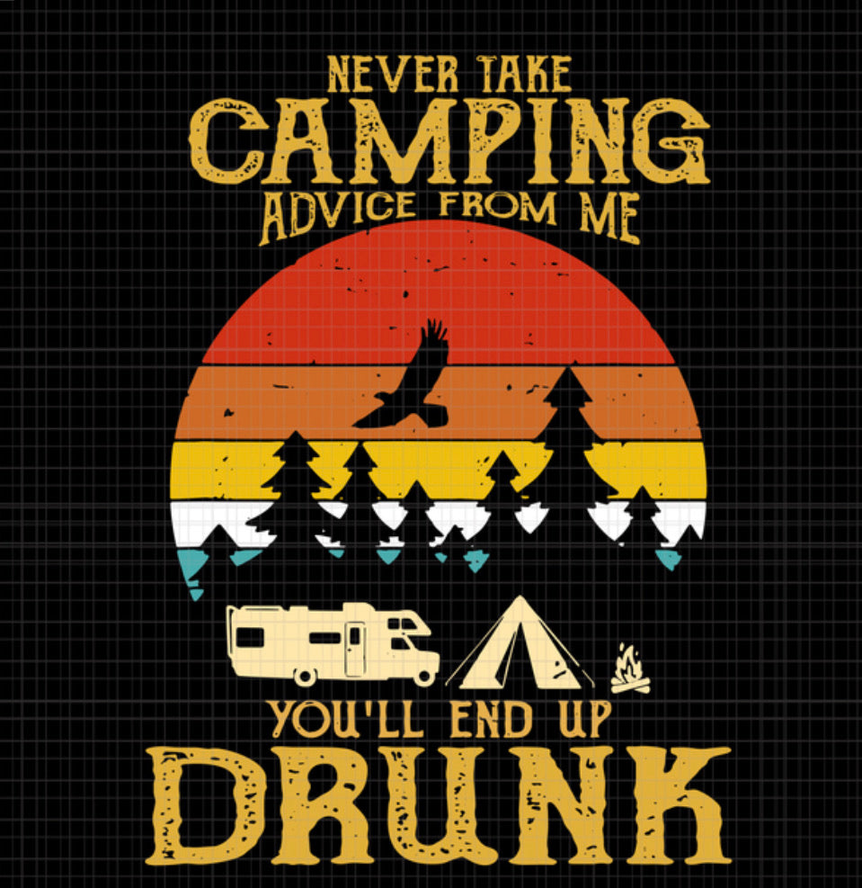 Camping Advice Graphic Tee