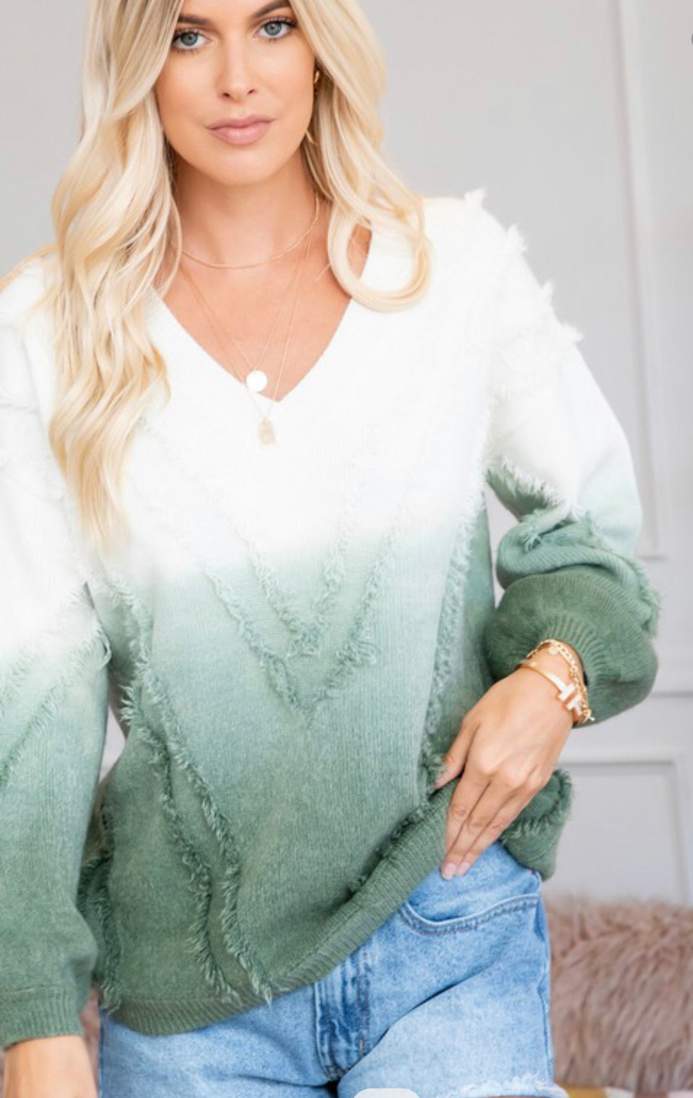 Ombre Babe Sweater Plus Sizes