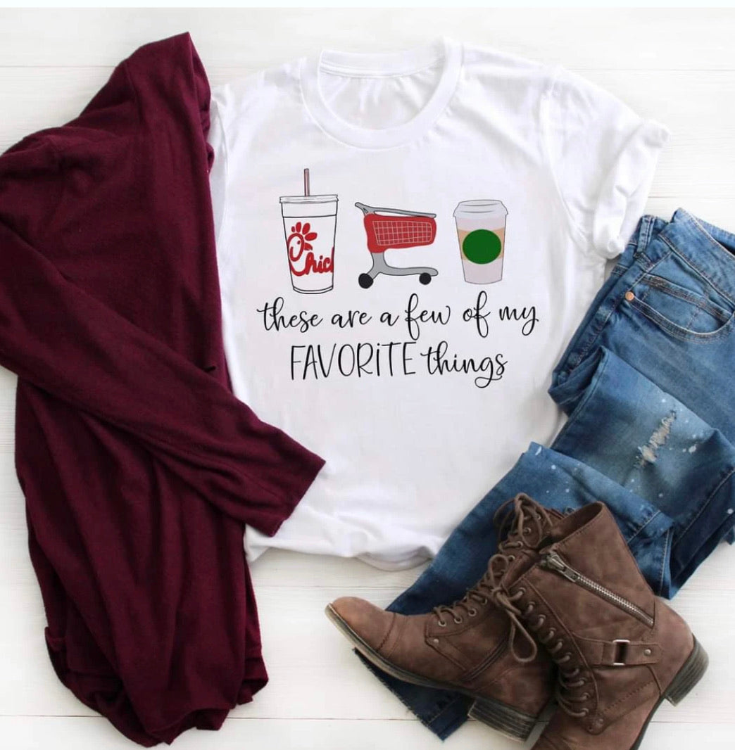 A few of my favorite things Graphic Tee