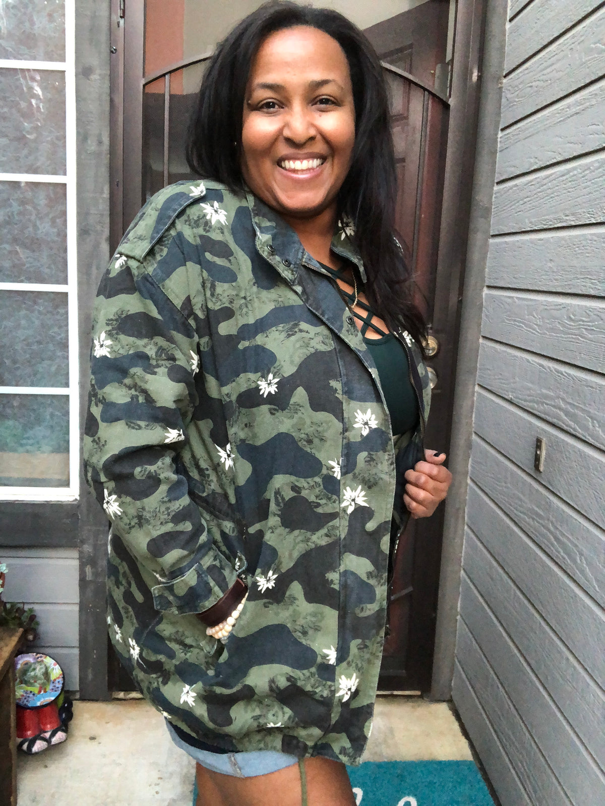 Fight or Flight Camo Jacket