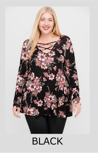 Samantha Plus Size Tunic