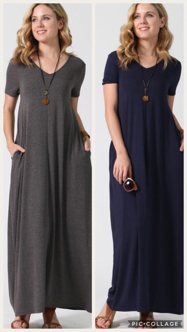 """To the Max""-Maxi Dress"