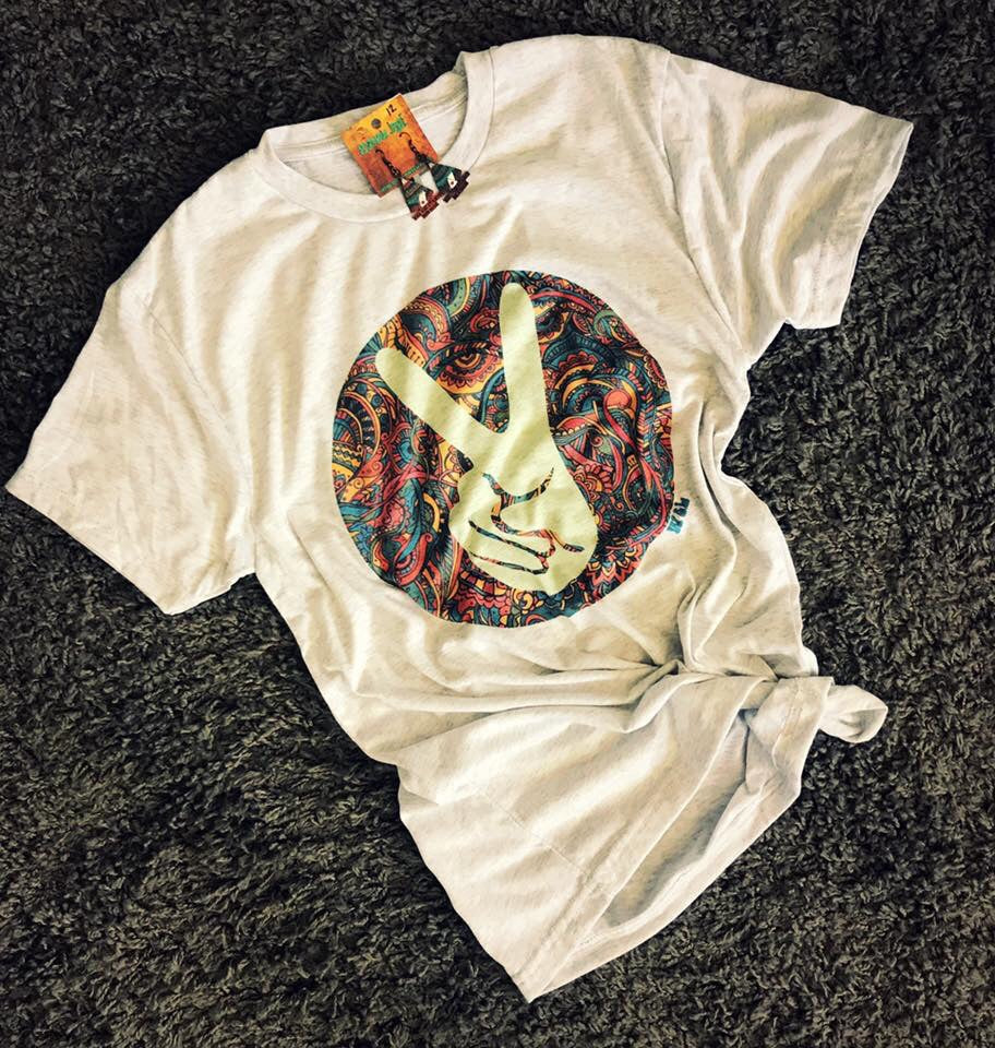 Paisley Peace Sign Tee